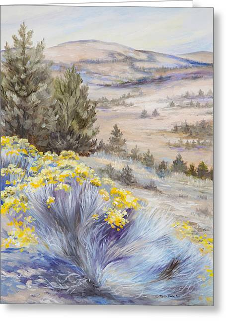 John Day Valley I Greeting Card