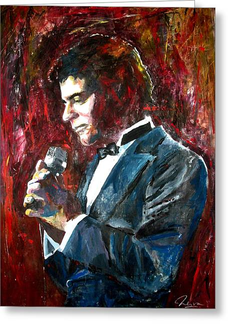Johnny Mathis Greeting Card