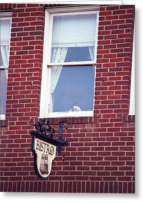 Jonesborough Tennessee - Window Over The Shop Greeting Card