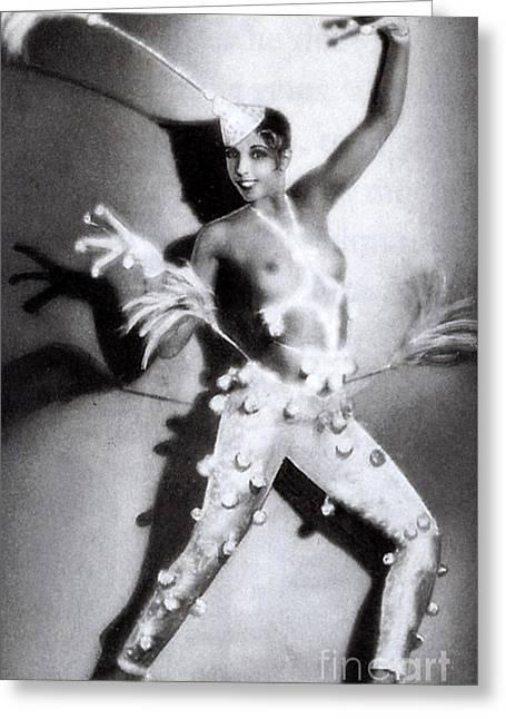Josephine Baker Greeting Card