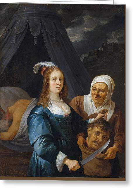 Judith With The Head Of Holofernes Greeting Card by David Teniers the Younger