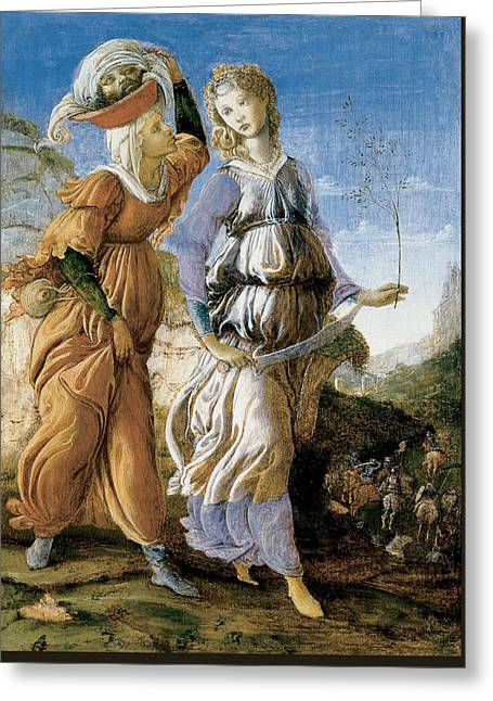 Judith With The Head Of Holofernes Greeting Card by Sandro Botticelli