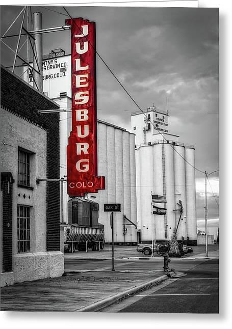 Julesburg Colorado Greeting Card