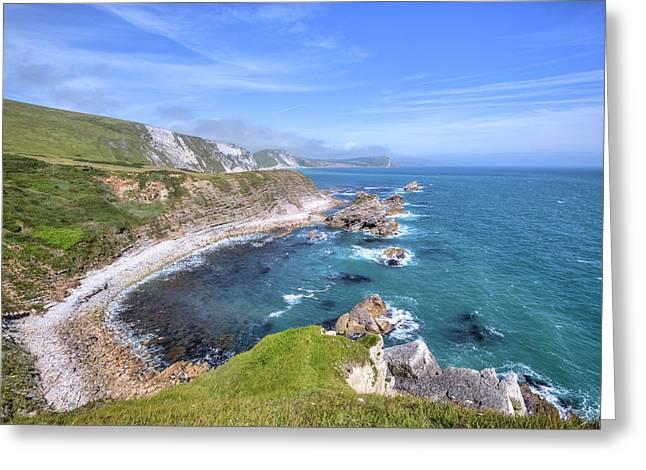 Jurassic Coast - England Greeting Card