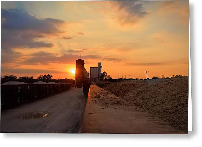 Katy Texas Sunset Greeting Card