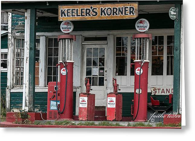 Keeler's Korner Iv Greeting Card