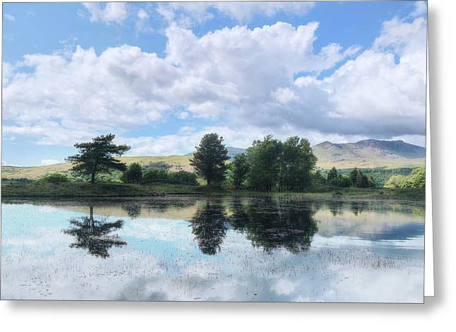 Kelly Hall Tarn - Lake District Greeting Card by Joana Kruse