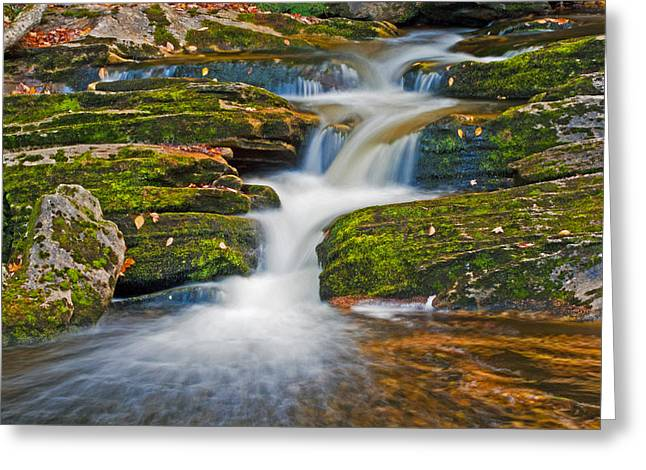 Kent Falls Greeting Card