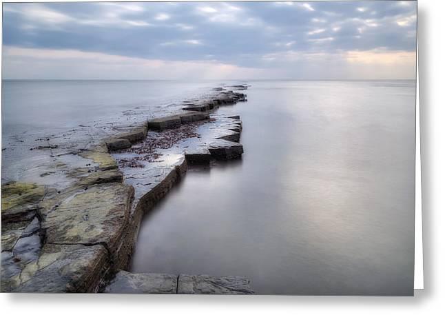 Kimmeridge Bay - England Greeting Card