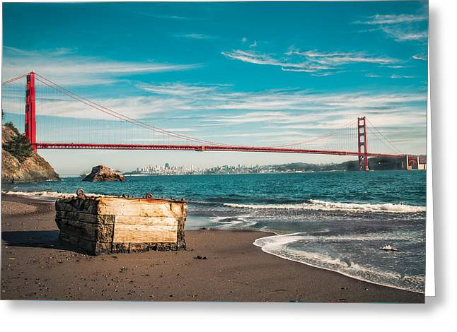 Greeting Card featuring the photograph Kirby Cove Treasure by Kim Wilson