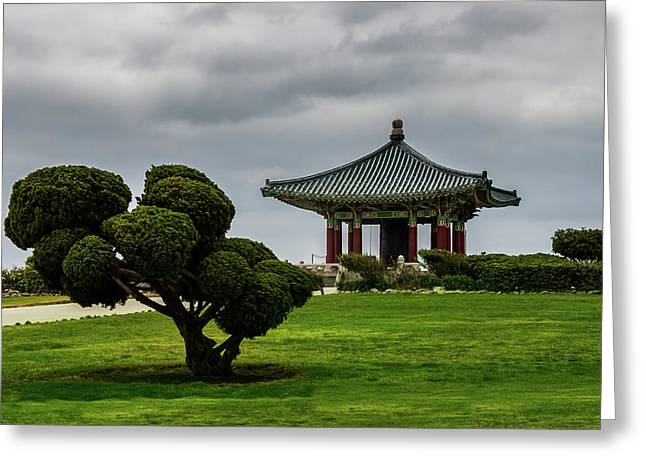 Korean Bell Of Friendship Greeting Card