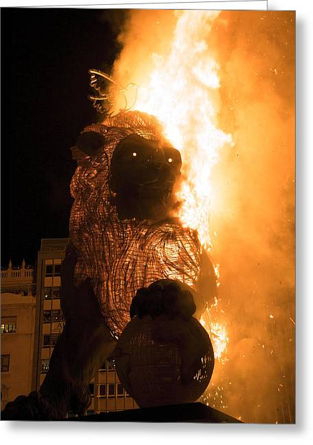 La Crema Fallas 2015 Greeting Card