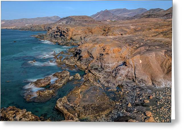 La Pared - Fuerteventura Greeting Card by Joana Kruse