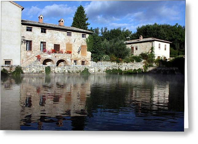 La Terme Greeting Card by Pat Purdy