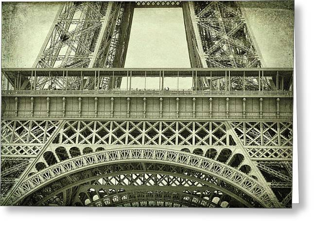 La Tour Eiffel Greeting Card by JAMART Photography
