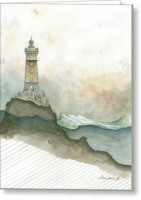 La Vieille Lighthouse Greeting Card