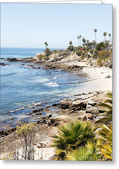 Laguna Beach California Greeting Card by Paul Velgos