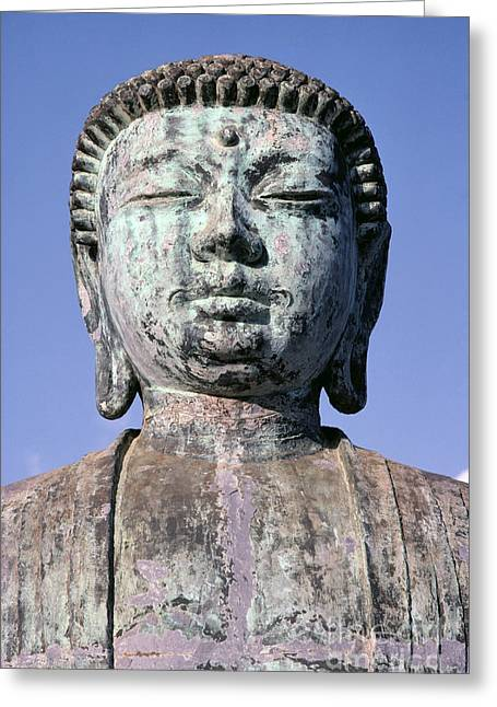 Lahaina, Buddha At Jodo  Greeting Card