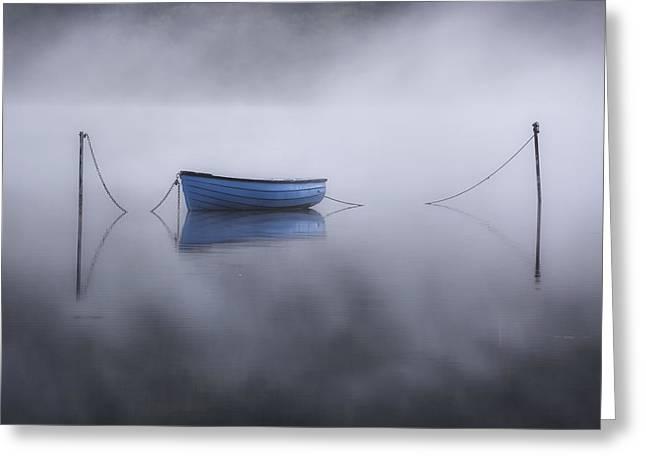 Lake Llyn Padarn - Wales Greeting Card