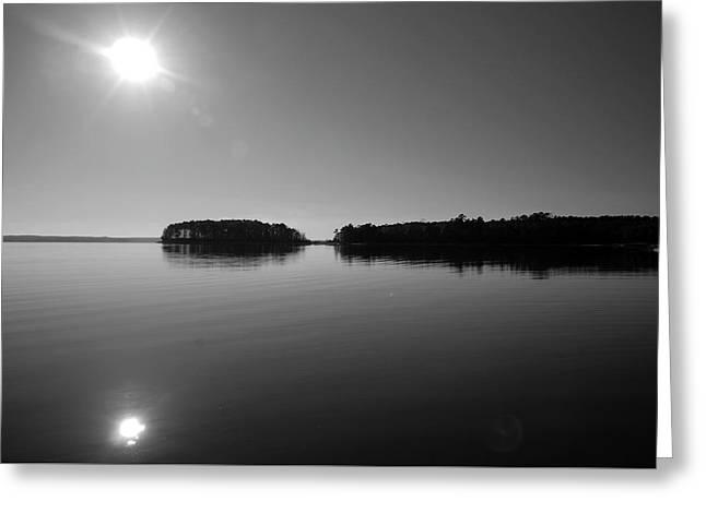 Lake Sam Rayburn Greeting Card