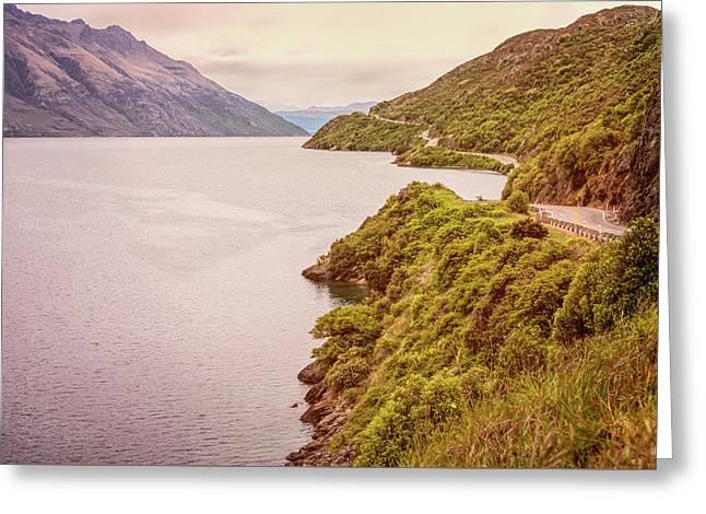 Lake Wakatipu New Zealand Greeting Card