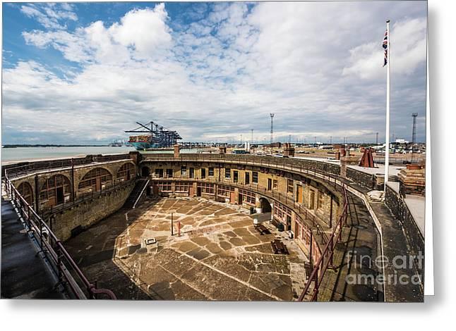 Landguard Fort Greeting Card by Svetlana Sewell