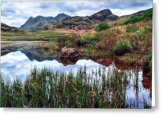 Langdale - Lake District Greeting Card by Joana Kruse