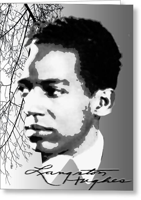 Langston Hughes Greeting Card