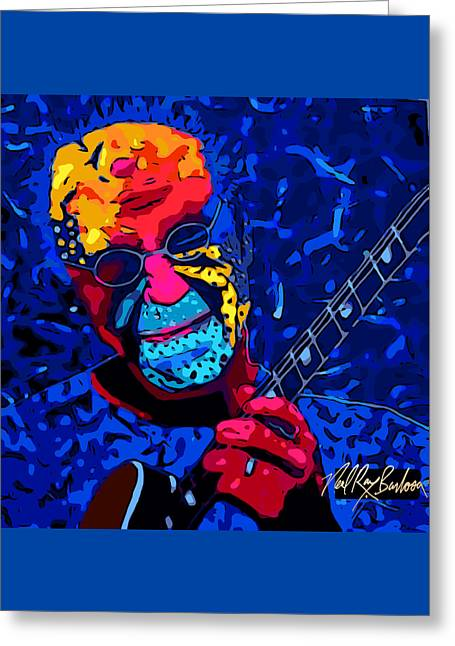 Larry Carlton Greeting Card