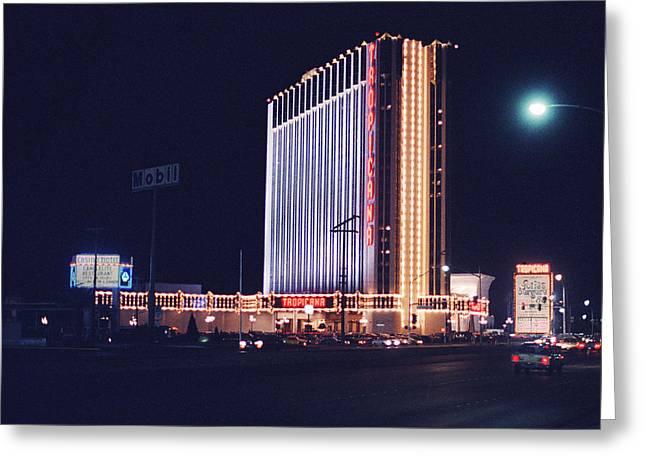 Las Vegas 1980 #3 Greeting Card by Frank Romeo