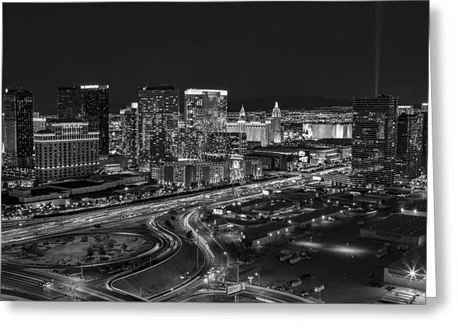 Las Vegas Luxor Sky Beam Greeting Card