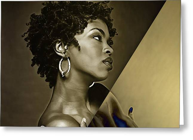 Lauryn Hill Collection Greeting Card