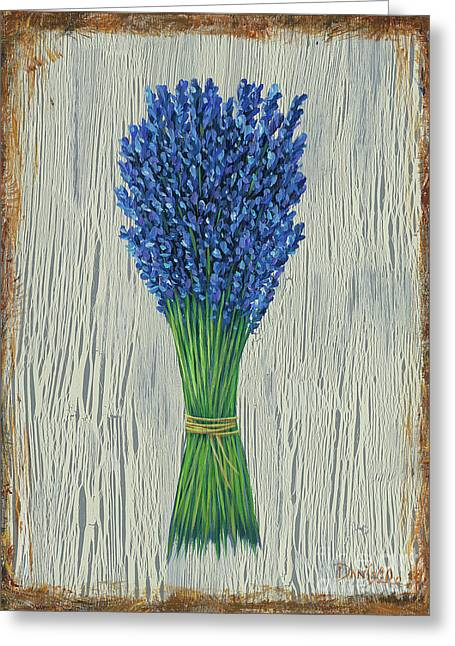 Lavender Greeting Card by Danielle Perry