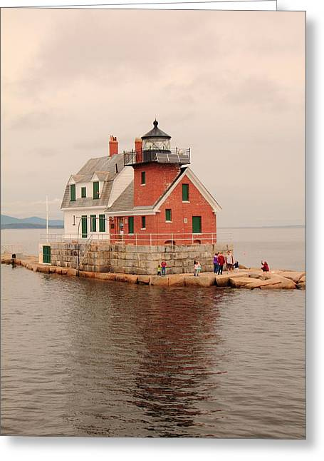Leaving Rockland Greeting Card by Doug Mills