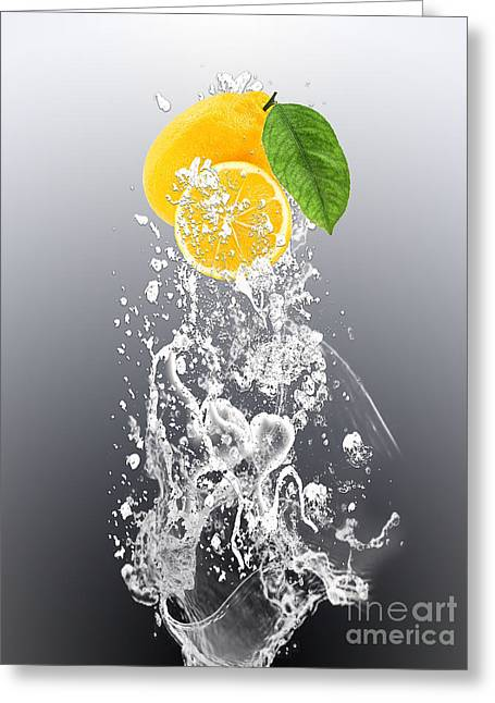Lemon Splast Greeting Card