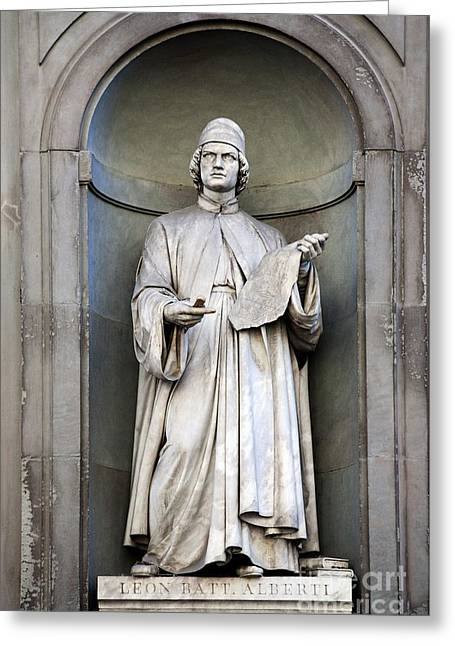 Leon Batttista Alberti Greeting Card by Sheila Terry