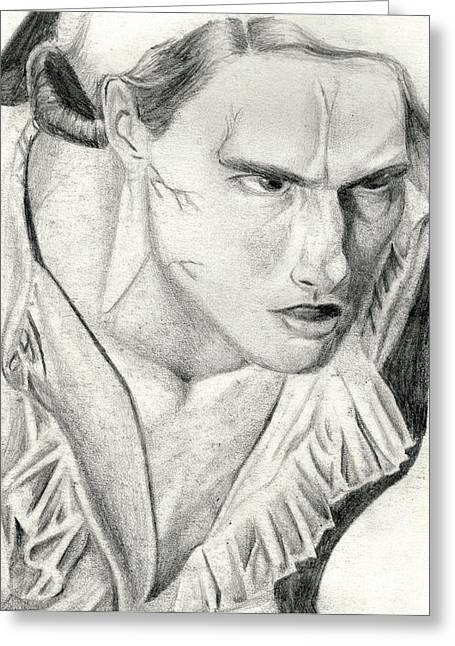 Lestat Greeting Card by Michael McKenzie