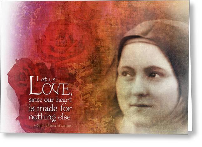 Let Us Love II Greeting Card