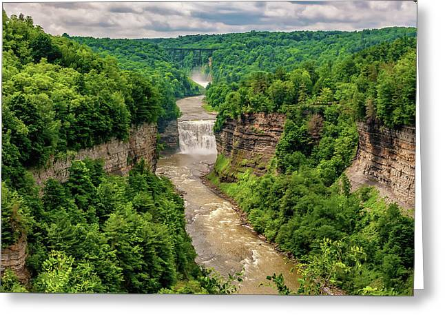 Letchworth State Park 6 Greeting Card