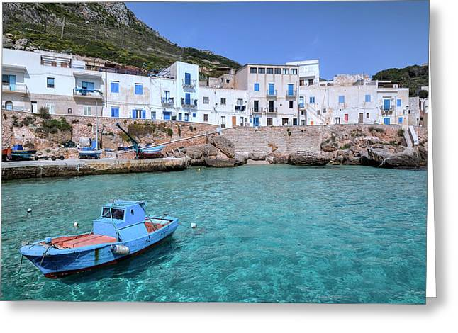 Levanzo - Sicily Greeting Card by Joana Kruse
