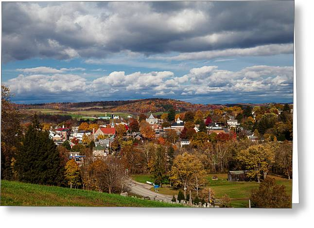 Ligonier Valley Greeting Card by April Reppucci