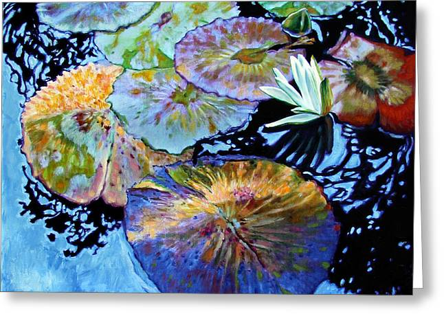 Lily Pad Palettes Greeting Card