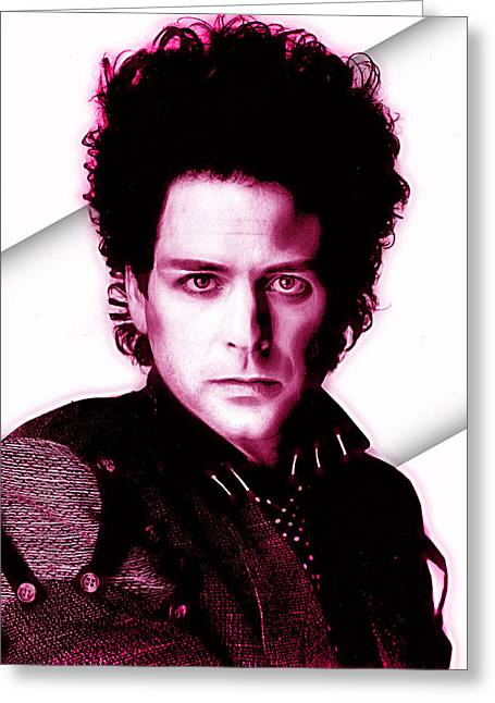 Lindsey Buckingham Collection Greeting Card by Marvin Blaine