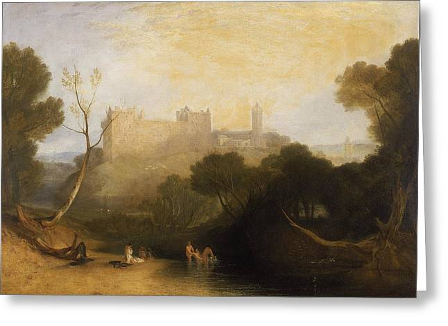 Linlithgow Palace Greeting Card by Joseph Mallord William Turner