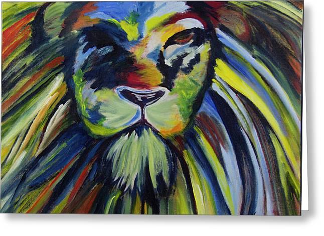 Lion Of Judah Greeting Card by Heather Macdonald