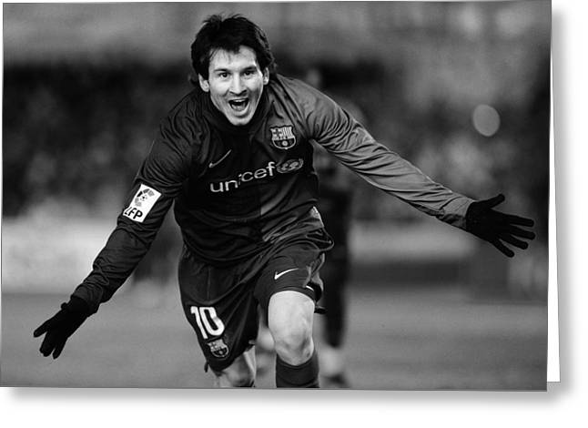 Lionel Messi 1 Greeting Card
