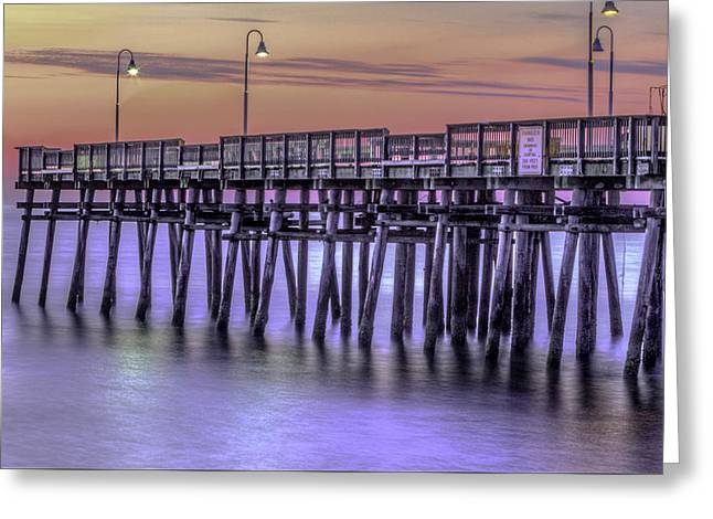 Little Island Pier Greeting Card