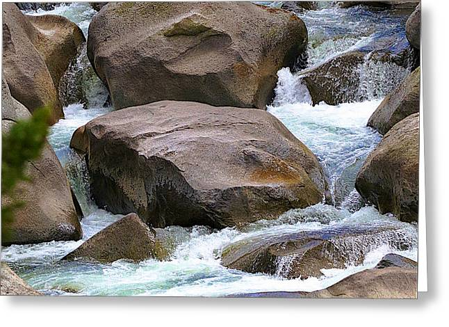 Greeting Card featuring the photograph Living Waters by Robert Pearson