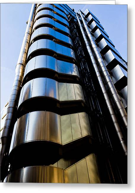 Banker Greeting Cards - Lloyds of London  Greeting Card by David Pyatt
