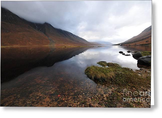 Loch Etive Greeting Card by Nichola Denny